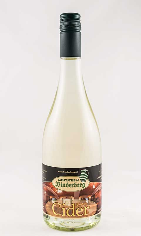 Flasche Birnencider